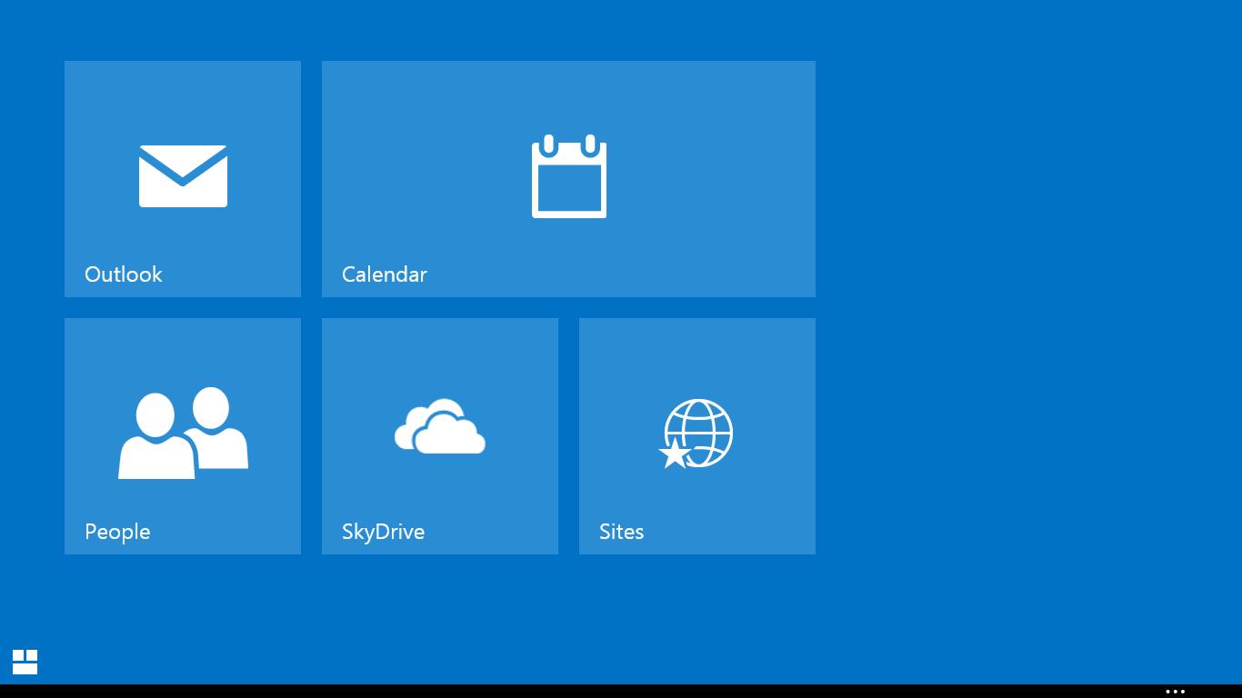Outlook.com Icon Icon Info